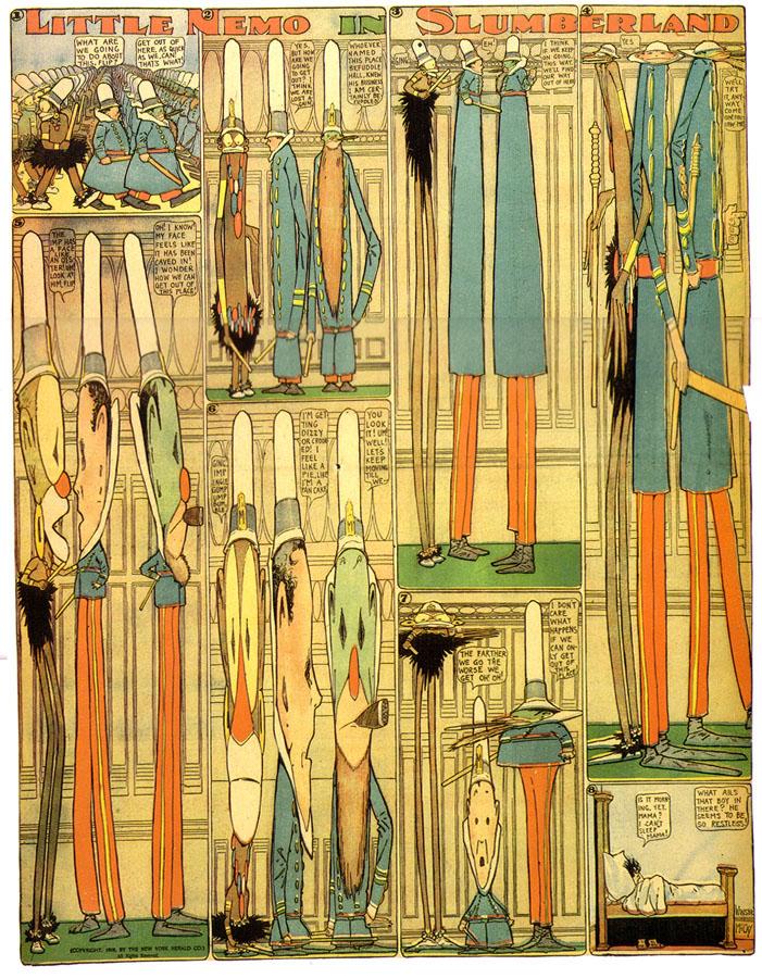 Bêtises / Jean-Marie Dunoyer dans Pitres Little-Nemo-1908