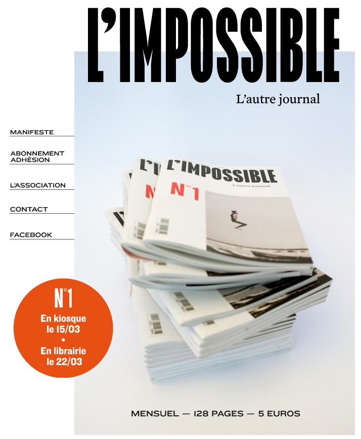 L'Impossible / Notre journal / Michel Butel dans Flux limpossible