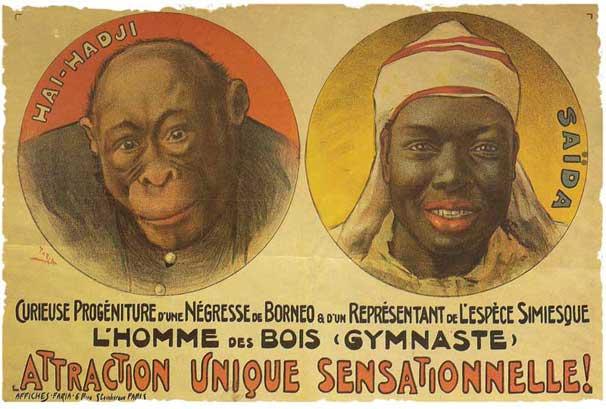 Les Animaux dénaturés / Vercors dans Pitres negre-singe