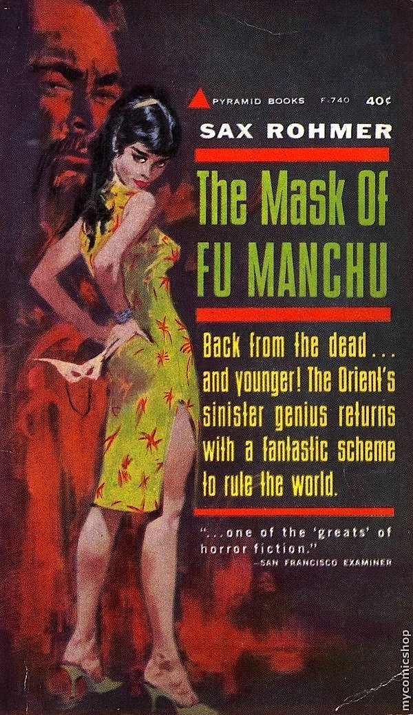 Un privé à Babylone (1 : les Tambours de Fu Manchu) / Richard Brautigan dans Brautigan fumanchu