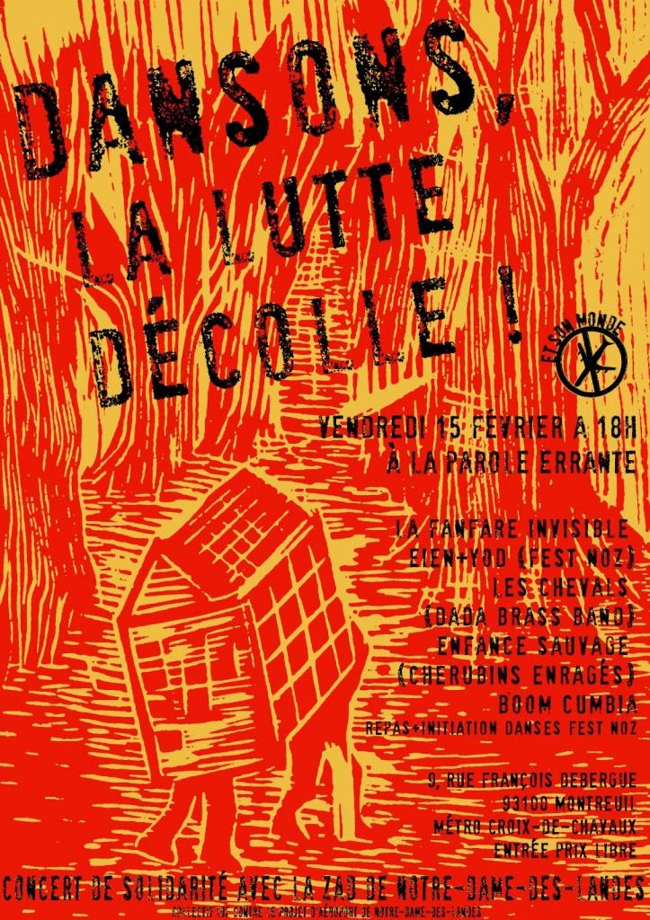 Concert de soutien à Notre-Dame-des-Landes / Vendredi 15 février à La Parole Errante / Montreuil dans Action affiche-chataigne-notre-dame-des-landes