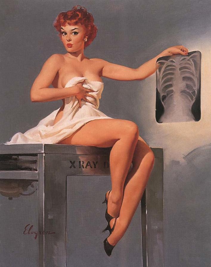Pornotopie - Playboy et l'invention de la sexualité multimédia / Beatriz Preciado dans Dehors inside-story-pin-up-gil-elvgren-1959