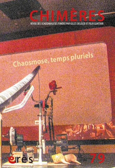 Temps pluriels / Pascale Criton et Anne Sauvagnargues / Chimères n°79 dans Chimères chimeres79couv