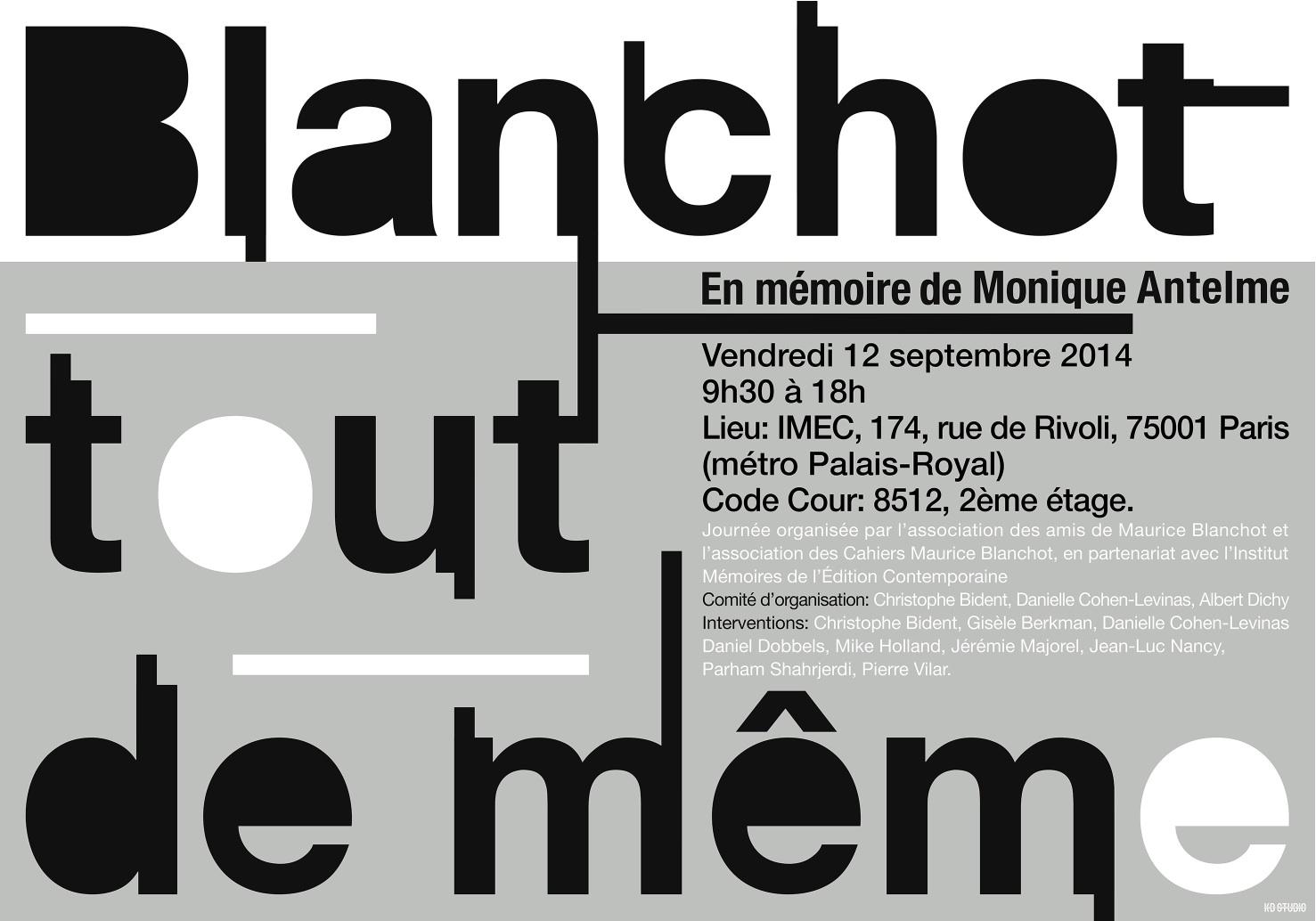 Blanchot tout de meme - 12 septembre 2014 (2)